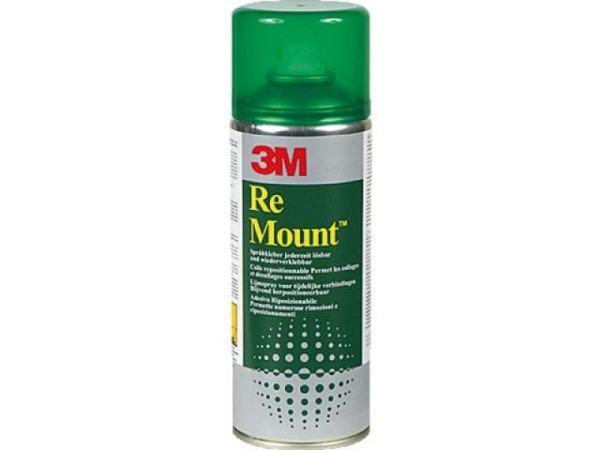 Sprayleim Re Mount 3M 400ml, wiederablösbar