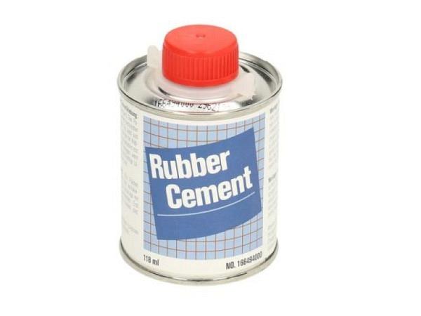 Leim Rubber Cement 118ml, flüssig, transparent, wasserfest