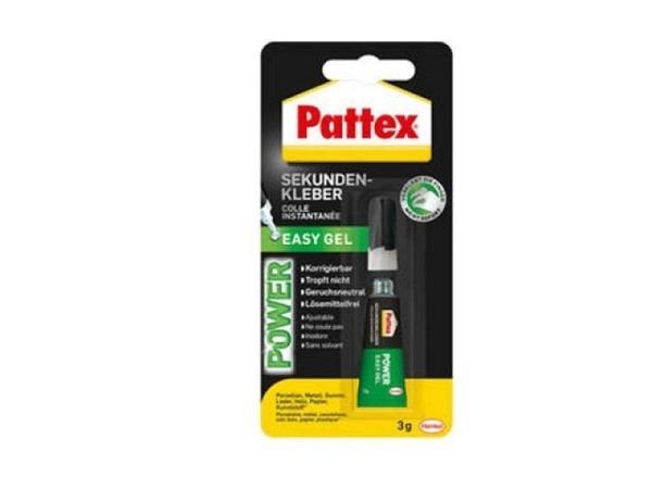 Leim Pattex Power Easy Gel 3g Sekundenkleber