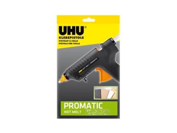 Leim Uhu Glue Gun Hot Melt Promatic, Heissklebpistole