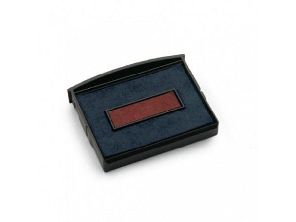 Ersatzstempelkissen Colop E2100 blau/rot