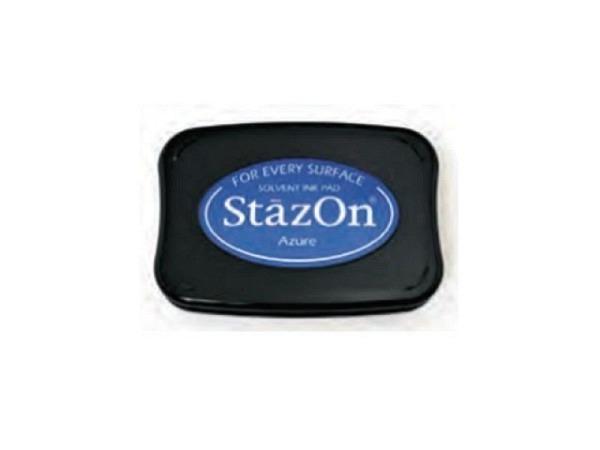 Stempelkissen StazOn azure 6x10cm, schnelltrocknend