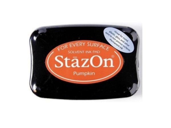 Stempelkissen StazOn Pumpkin orange 6x10cm, schnelltrocknend