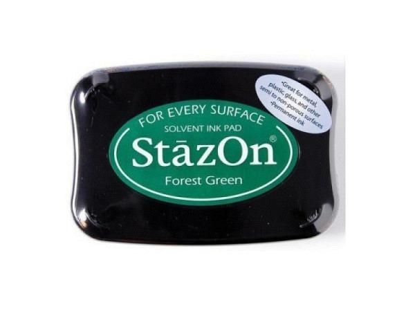 Stempelkissen StazOn forest green 6x10cm, schnelltrocknend
