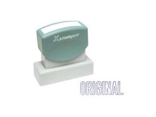 Stempel X-Stamper Original blau