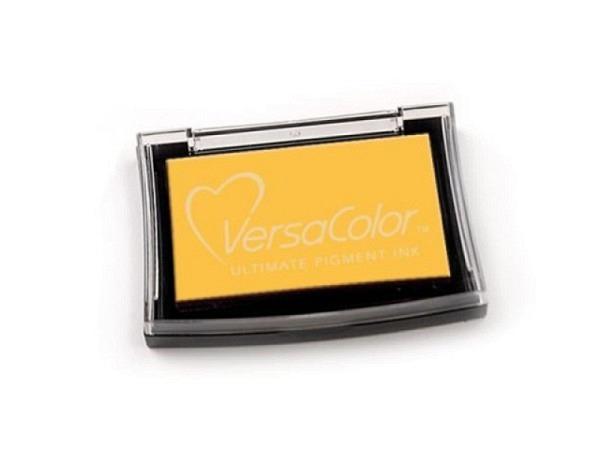 Stempelkissen Versa Color kanariengelb 6x10cm, langsamtrock.