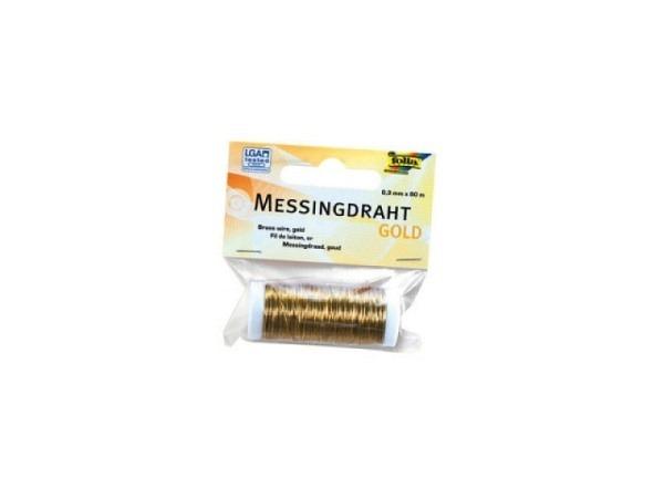 Draht Folia Kupferdraht 0,3mmx80m Messing