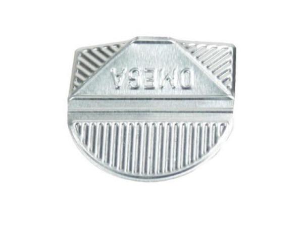 Eckenklammern Omega Aluminium silber 100Stk.
