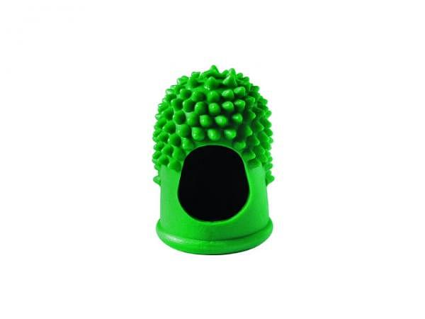 Blattwender (Gummi-Zählfinger) grün D:14mm Gr.1