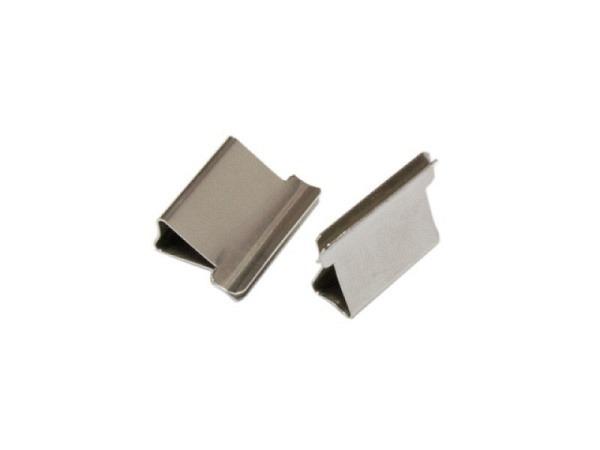 Aktenklammer Alco für Dispenser umfasst ca. 20Blatt, Rückenbreite 5mm, Edelstahl für Power-Clipper, 50Stk.