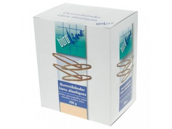 Gummibänder Büroline 100x1,3mm D:70mm 500g