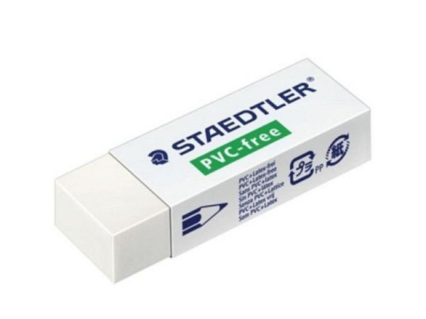Radiergummi Staedtler 525 B20 PVC-frei und frei von Latex