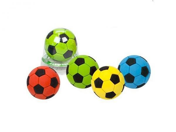 Radiergummi Power Now Fussball farbig sortiert