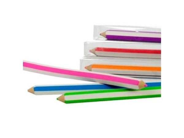 Radiergummi Bleistifte, erhältlich in 6 verschiedenen Farben