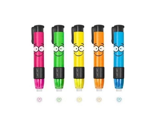 Radierstift Trendhaus Buddys Radierstift für Links- und Rechtshänder