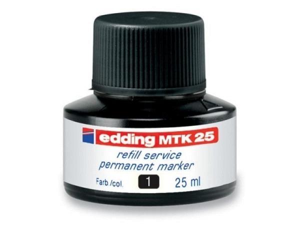 Tinte Edding MTK-25 schwarz 25ml