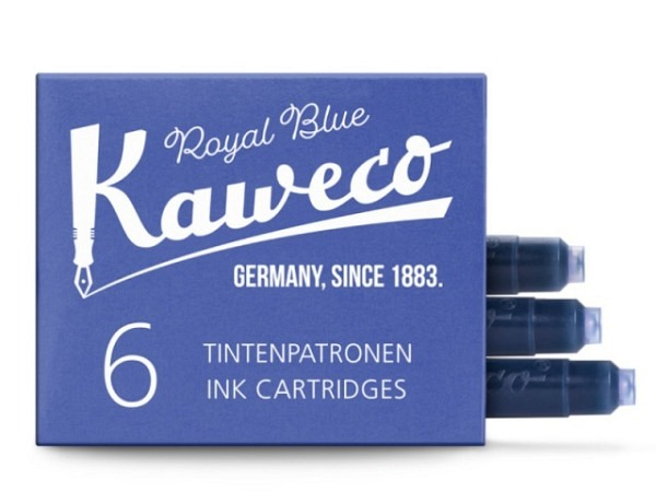 Tintenpatrone Kaweco klein königsblau