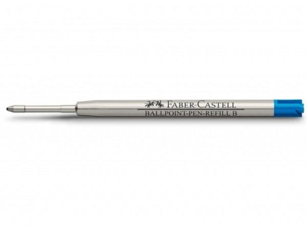 Mine Faber-Castell für Kugelschreiber B blau mit Stahlspitze