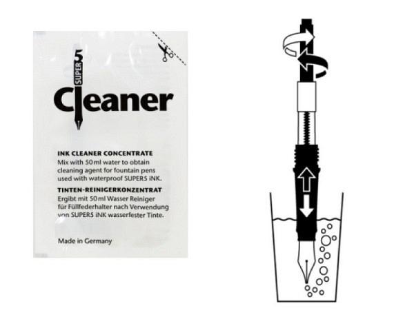 Tinten Reiniger Super5 Cleaner 5ml, konz. Tintenreiniger