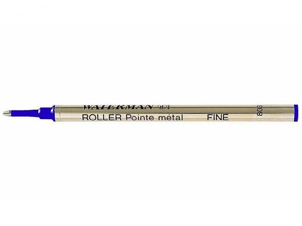 Mine Waterman Rollerpatrone F blau, gängige Rollerballs