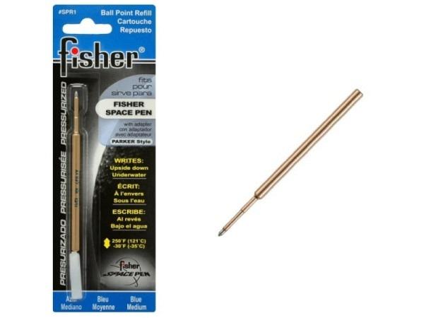 Patrone Fisher Space Pen Medium blau, Gasdruckmine