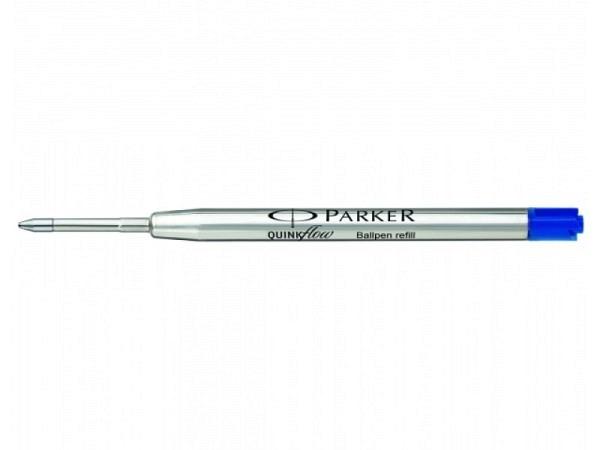 Mine Parker Kugelschreiber Quinkflow F blau Grossraumpatrone