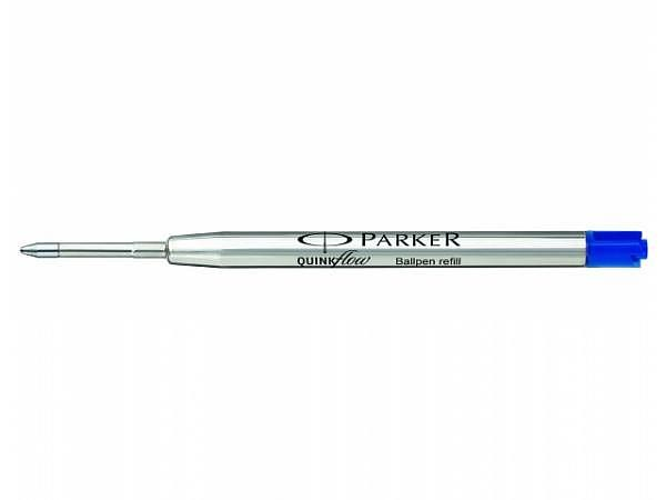 Mine Parker Kugelschreiber Quinkflow M blau Grossraumpatrone