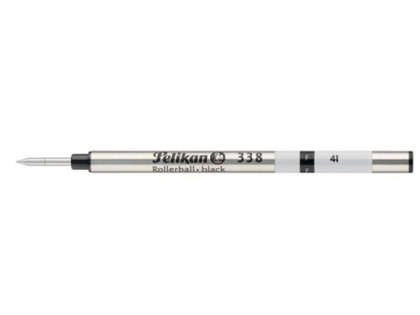 Mine Pelikan Rollerpatrone 338 F schwarz, für Tintenroller