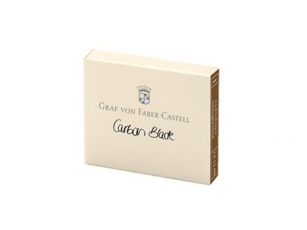 Tintenpatrone Graf von Faber-Castell schwarz 6Stück