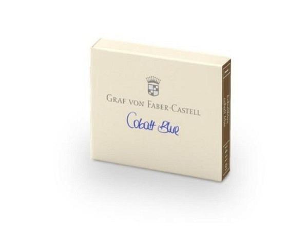 Tintenpatrone Graf von Faber-Castell kobaltblau 6Stück