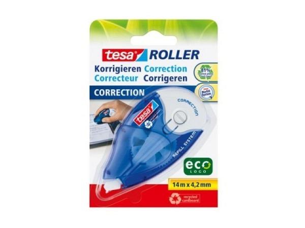Korrekturroller Tesa EcoLogo 4,2mm Nachfüllrolle