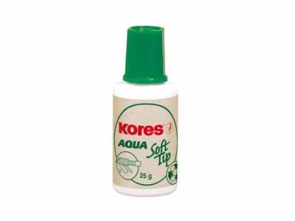 Korrekturmittel Kores Soft Tip Aqua weiss