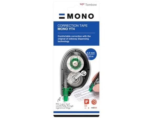 Korrekturroller Tombow Mono 4,2mmx10m, seitl, Blister