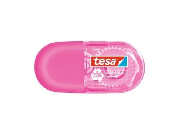 Korrekturroller Tesa EcoLogo mini pink 5mmx6m