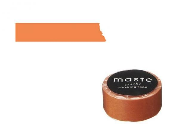Klebeband Mark's Masté Washi Masking Basic orange