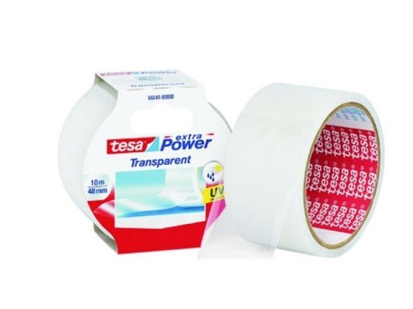Klebeband Tesa Reparaturband Extra-Power transp. 50mmx10m