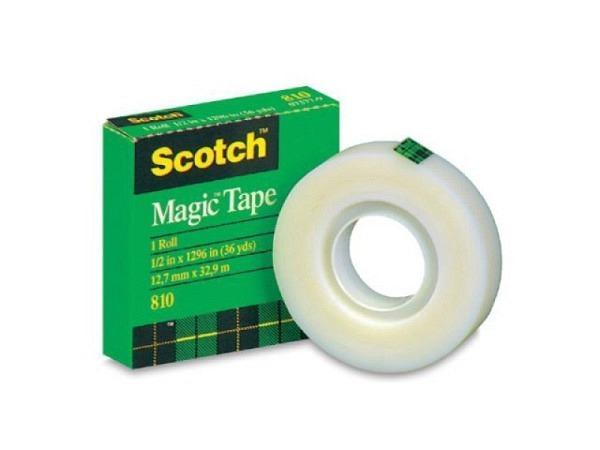 Klebeband Scotch Magic Tape 810 19mmx10m