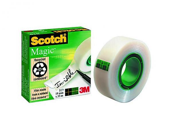 Klebeband Scotch Magic Tape 810 19mmx33m