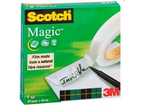 Klebeband Scotch Magic Tape 810 19mmx66m gross