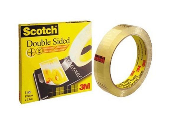Klebeband Scotch Doppelseitig 665 12.7mmx33m grosse Spule