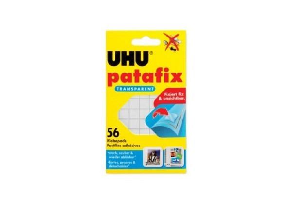 Haftstücke Uhu Patafix transparent 56Stk.,