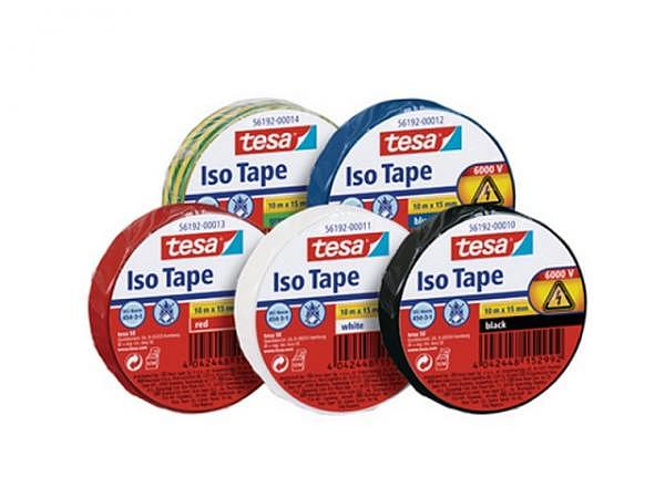 Isolierband Tesa Iso Tape 15mmx10m rot