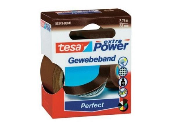 Gewebeband Tesa wetterfest 38mmx2,75m braun