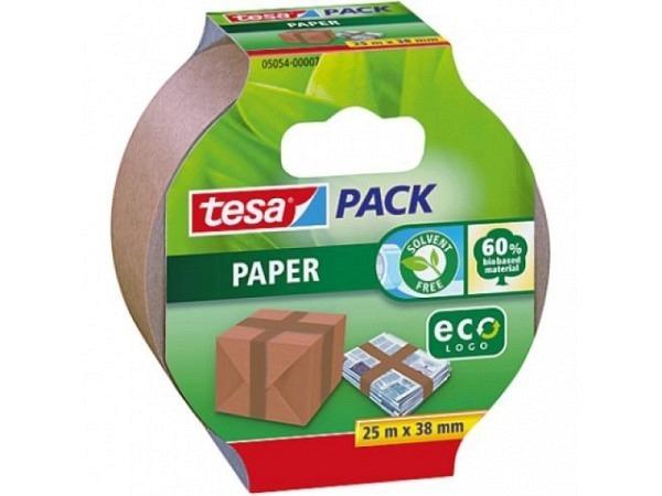 Verpackungsband Tesa Papier 38mmx25m braun