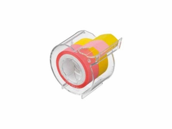 Klebeband Yamato Memoc Roll Film Style gelb und pastellpink