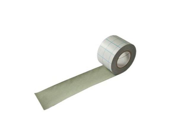 Leinen Filmoplast T 5cm breit grau