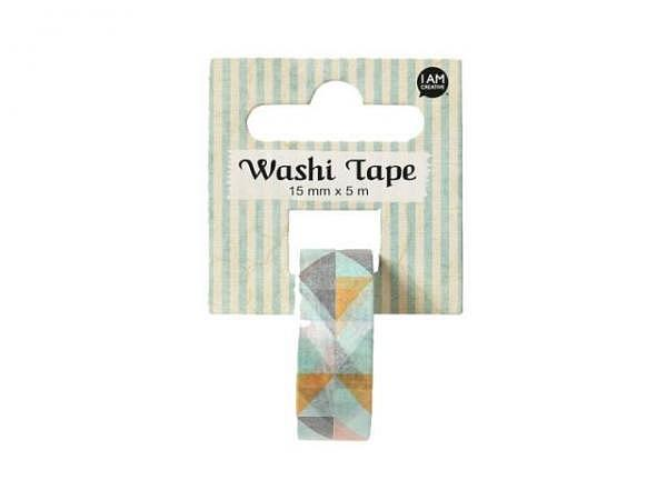 Klebeband Mark's Masté Washi Masking Colorful Orange Stripes
