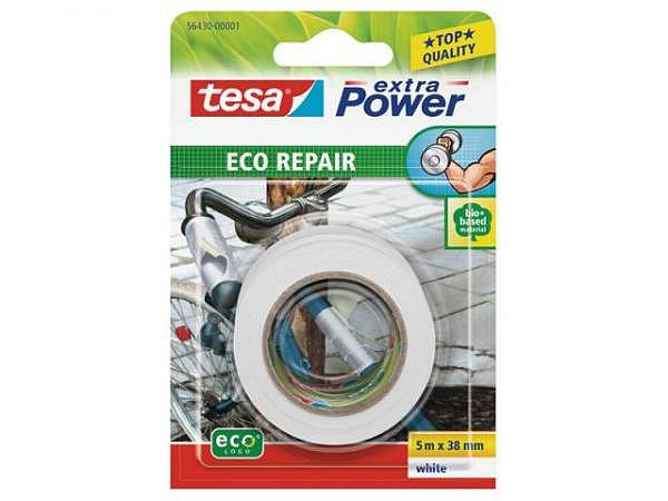 Gewebeband Tesa extra Power Eco Repair 38mmx5m weiss
