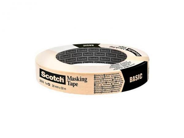 Abdeckband Scotch Masking Tape 2010 30mmx50m