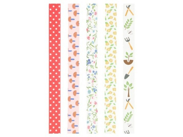 Klebeband Mark's Masté Washi Masking Tape Basic Set E